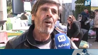 الحملة السعودية توزع 1000 حصة إغاثية للأسر السورية النازحة