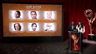 The 2016 Emmy Nominations (REPLAY)