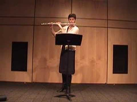 Telemann Flute Fantasy in A Major NYSSMA
