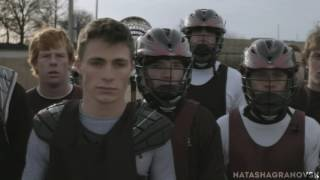 """Teen Wolf 1x01 Jackson to talk with Scott about """" steroids"""". Lacrosse scene"""