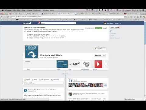 New Facebook Timeline For Business Pages Update