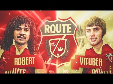 ROUTE LEYENDA - Robert PG vs Vituber (estoy cagao) 1a JORNADA