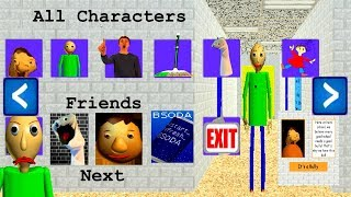 Baldi's Basics in Education and Learning EXTRAS
