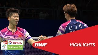 TOTAL BWF SUDIRMAN CUP 2019 | MD | CHINA VS JAPAN | BWF 2019