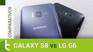 Comparativo: Galaxy S8 vs LG G6   Review do TudoCelular