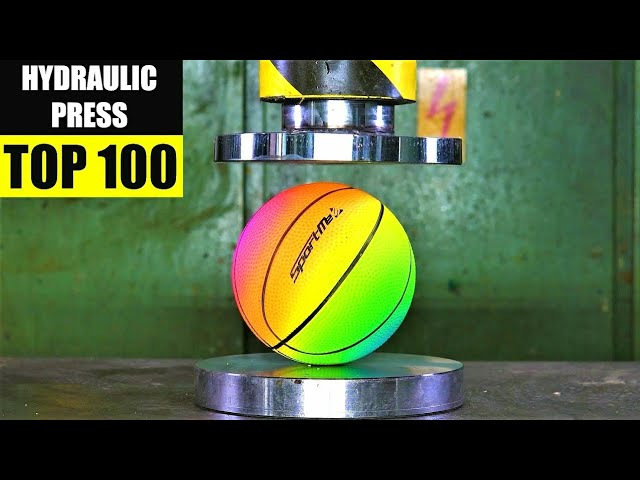 Top 100 Best Hydraulic Press Moments VOL 3 | Satisfying Crushing Compilation