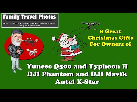 8 GREAT Drone Gifts / Accessories Yuneec Q500 / Typhoon H, DJI Phantom / Mavik, Other Drone Owners