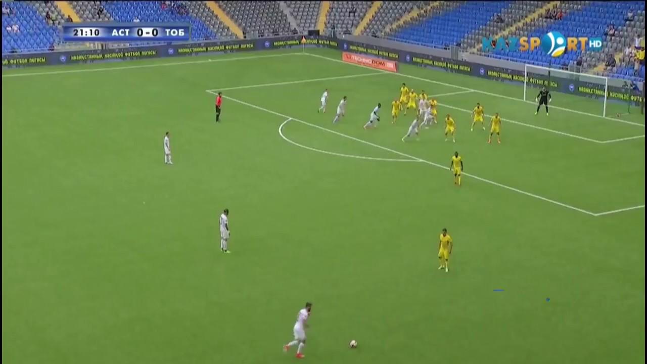 FC Astana vs FK Tobol 2-0 Highlights - Kazakhstan Premier League