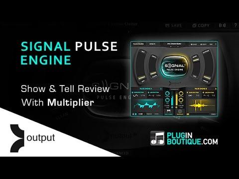 Output Signal Pulse Engine Kontakt Instrument - Overview With Multiplier