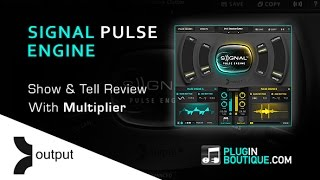 Output Signal Pulse Engine Kontakt Instrument - Overview With Multiplier