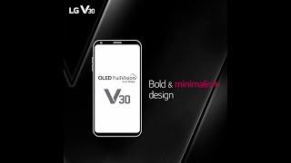 LG V30: Bold & Minimalism Design