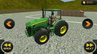 ट्रैक्टर ड्राइवर गेम डाउनलोड करें  Chained Tractor Towing Bus