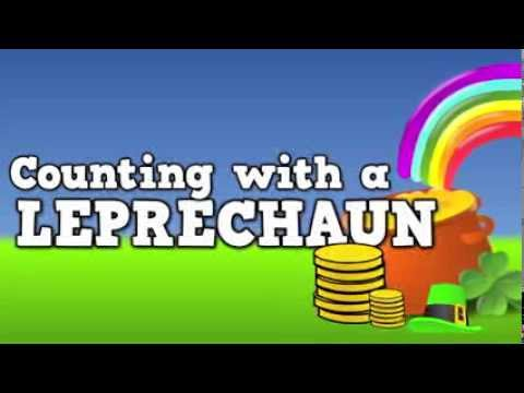 Counting with a Leprechaun!  (St. Patrick