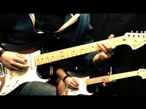 Jimi Hendrix - Crosstown Traffic (w/Solo) - Rock Guitar Cover
