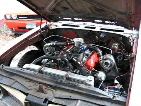 Defbob S Twin Turbo Cutlass W Big Block Mopar Youtube
