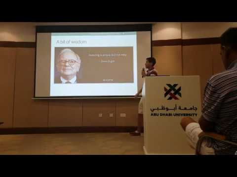 An introduction to investing fundamentals - by Brahim Laraiki (Live stream of Dubai Meetup 17)