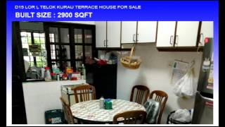 D15 LOR L TELOK KURAU TERRACE HOUSE FOR SALE