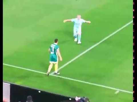 Partita del Cuore 2019, Cristiano Ronaldo segna a Buffon ...
