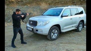 უხეში ტესტ დრაივი - ბრონირებული LC 200 - Rough Test Drive