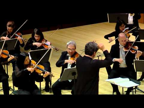 The Chamber Orchestra of Philadelphia performs Beethoven's 8th Symphony  (excerpt)