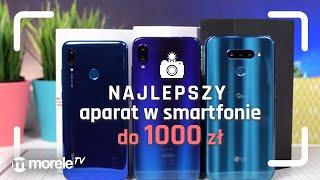 Najlepszy aparat w SMARTFONIE do 1000 zł? | Redmi Note 7 vs LG Q60 vs Huawei P Smart 2019