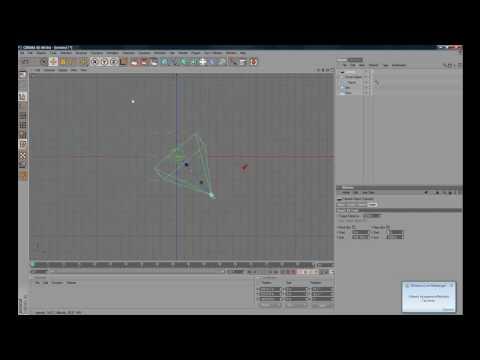 tutorial  cinema 4D  - effetto profondita di campo
