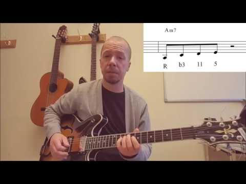 Blues For Alice chord tones (Jazz Guitar Lesson 32)