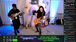 Herman Li & Tosin Abasi - Woven Web, Physical Education Live (Razer Con 2020 Part 3/4)