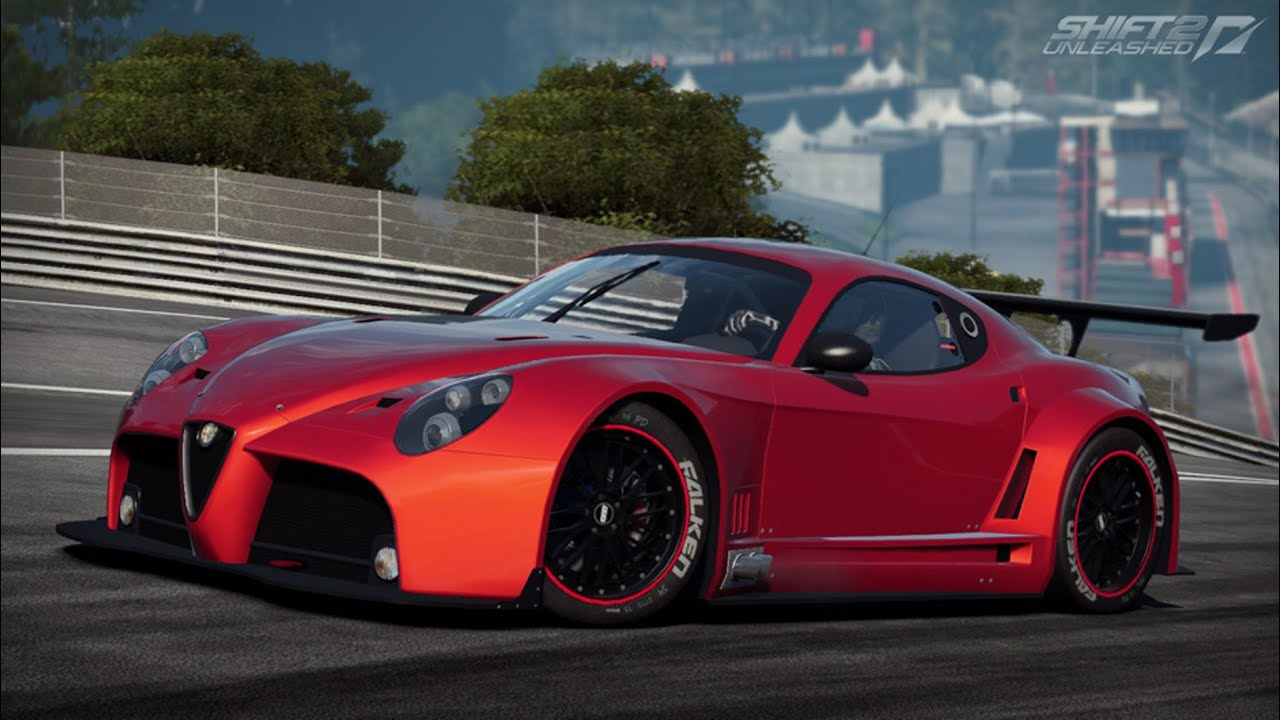 Nfs Shift 2 Unleashed, ALFA ROMEO COMPETIZIONE 8C, RACING