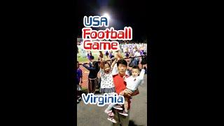 (미국가족여행)US High School Footbal…