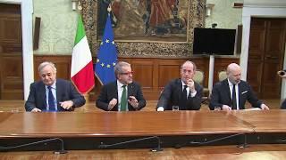 Autonomia, firma dell'accordo preliminare con regioni Emilia Romagna, Veneto e Lombardia