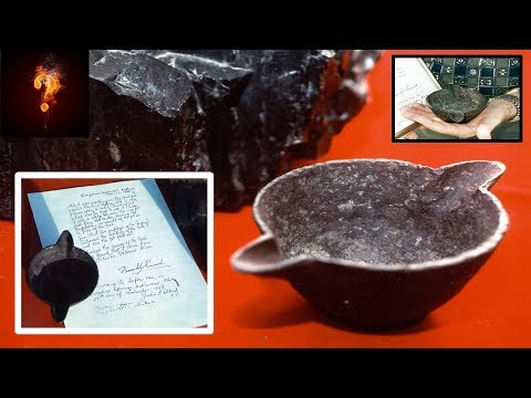 300 Million Year Old Iron Pot Found In Coal