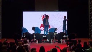 AVA Expo 2013 ДЕНЬ ВТОРОЙ (27.10.2013) - B1A4 - Tried To Walk cover dance by ~Top Guns~ & Illusion