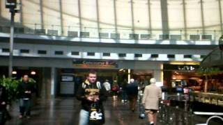 Indianapolis International Airport Freeze Mob on April 2, 2011 at 12:00PM EDT