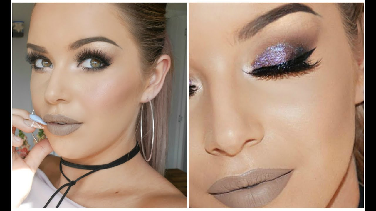 posh spice makeup. jeffree star posh spice \u0026 sparkly purple eyes ♡. makeup by annalee makeup