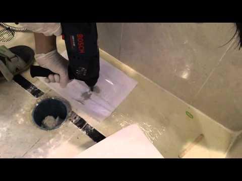 วิธีติดตั้งโถชักโครก How to Re-intall a toilet