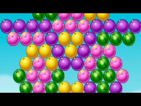 Shoot Bubble - Fruit Splash Level 3-6   Bubble Shooting Game - Android ios Gameplay