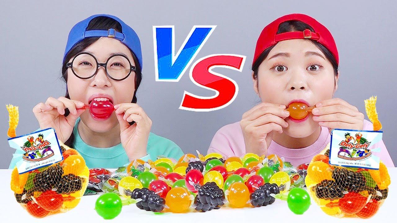 Tiktok Challenge Fruit Jelly Mukbang DONA