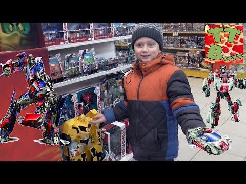 ✔ Трансформеры. Покупка новых игрушек от Игорька. Видео для детей / New Transformers ✔