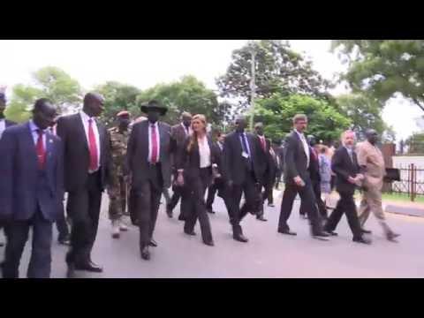 UN Security Council meets with President Salva Kiir
