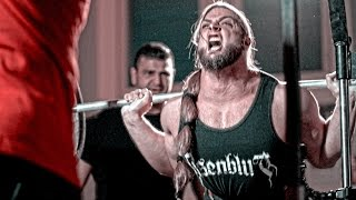 Strongman VS Weightlifter SQUAT DEATHMATCH #2