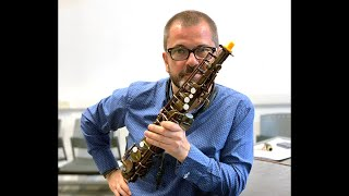 Rosario Guiliani plays the Emeo - digital practice horn