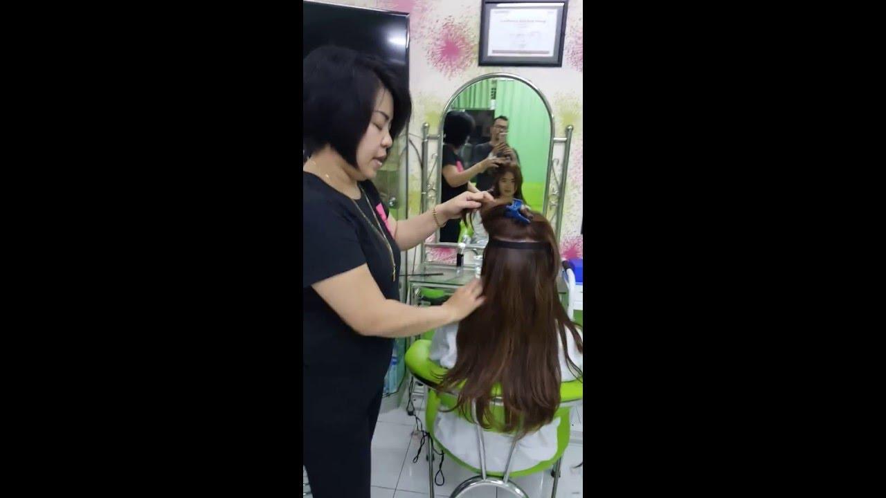 Jual Rambut Sambung Dii Tokopedia By Isye Salon Hair Extension Hair Clip