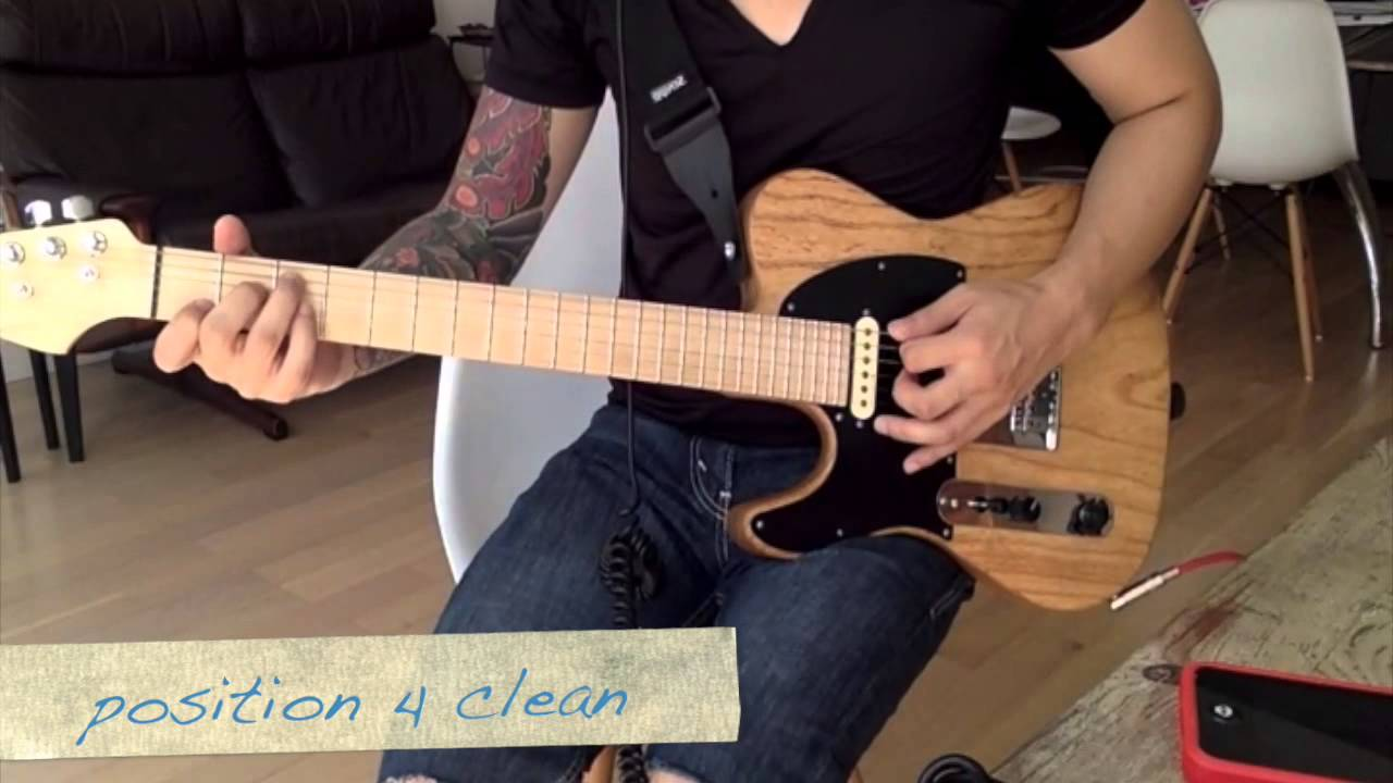 Tele With Strat 5 Way Switch Deaf Eddie Mod Youtube Fender Custom Shop Texas Special Pickup Wiring Diagram