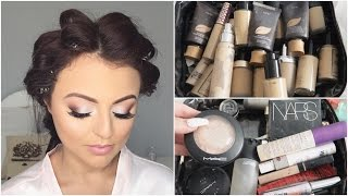 FLOWN TO NEW ZEALAND TO DO WEDDING MAKEUP ♡  WHATS IN MY KIT ♡ VLOG ♡ Jasmine Hand