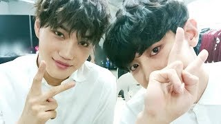 180715EXO Official Instagram Update with Chanyeol and Kai