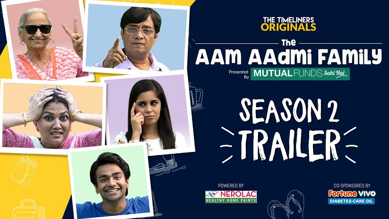The Aam Aadmi Family Season 2 | Web Series | Trailer | The Timeliners