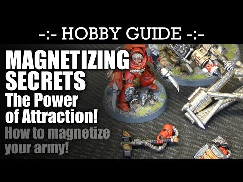 MAGNETIZING Secrets - How to magnetize your army! | HD