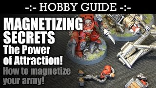 MAGNETIZING Secrets - H๐w to magnetize your army! | HD