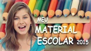 MATERIAL ESCOLAR DA MILENA -  2015 - Milena Stepanienco 8 anos